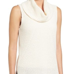 TWO by VINCE CAMUTO cowl neck sleeveless sweater
